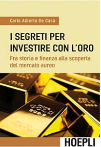 la copertina del libro di Carlo Alberto De Casa edito da Hoepli